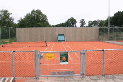 Tennisbaan Bouma Sport & Groen
